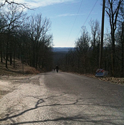 Riders on Hunters Ford Rd